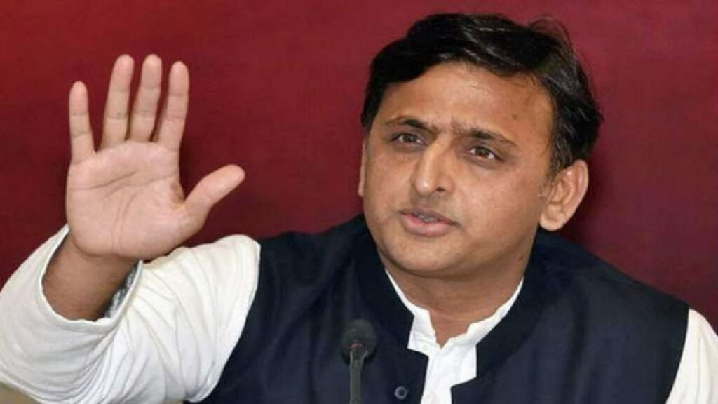 Akhilesh Yadav's attack on the BJP government, power is left for day four